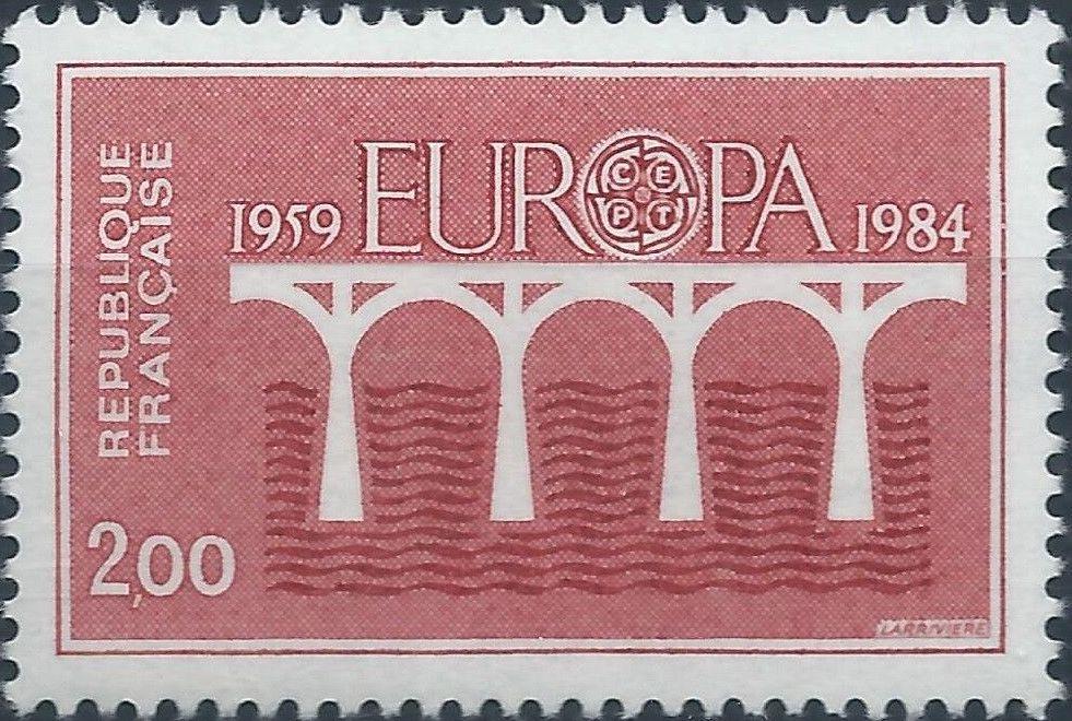 France 1984 EUROPA