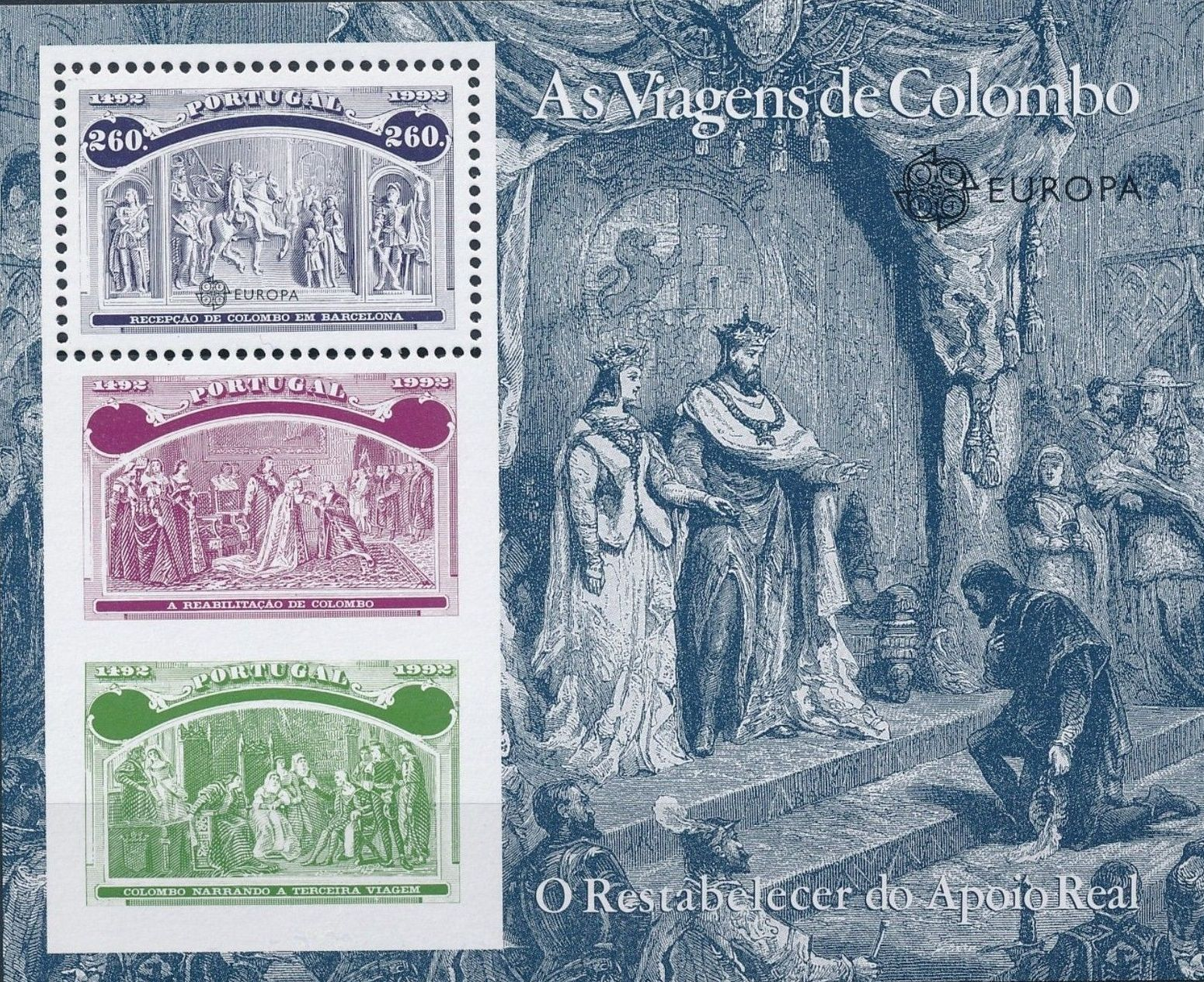 Portugal 1992 500th Anniversary of the Discovery of America SSe.jpg