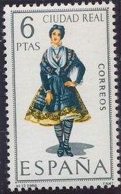 Spain 1968 Regional Costumes Issue