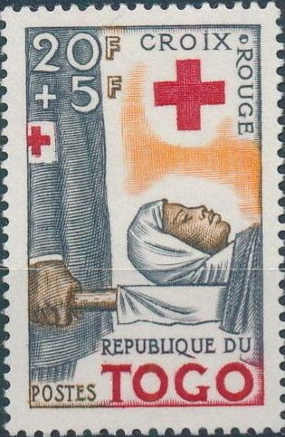 Togo 1959 100th Anniversary of International Red Cross