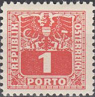 Austria 1945 Coat of Arms and Digit