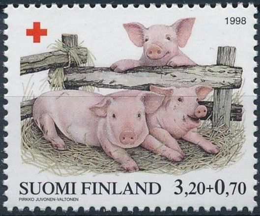 Finland 1998 Red Cross Fund - Pigs b.jpg