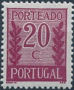 Portugal 1940 Postage Due Stamps c.jpg