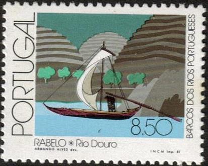 Portugal 1981 Portuguese River Boats b.jpg