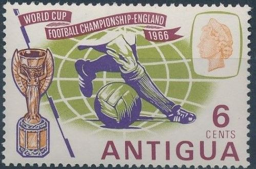 Antigua 1966 World Cup Soccer