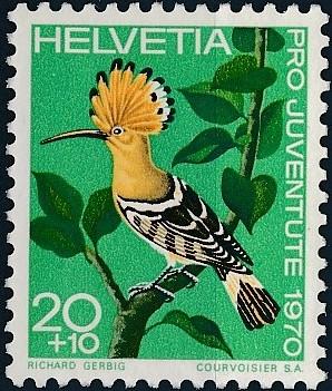 Switzerland 1970 PRO JUVENTUTE - Birds b.jpg
