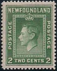 Newfoundland 1938 Royal Family