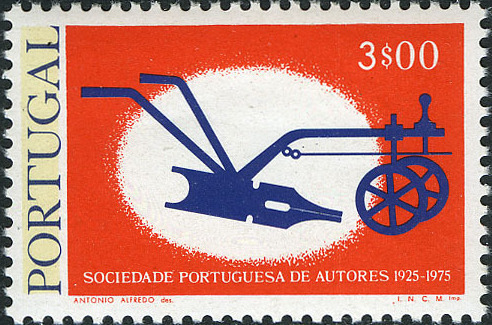 Portugal 1976 50th Anniversary of the Portuguese Authors Association