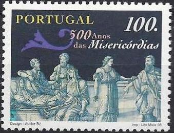 Portugal 1998 500th Anniversary of Misericórdias b.jpg