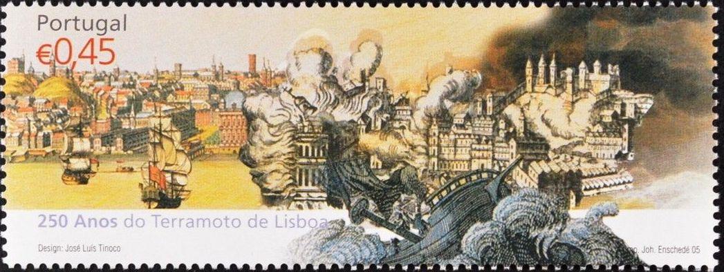 Portugal 2005 250th Anniversary of the Lisbon Earthquake