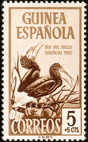 Spanish Guinea 1952 Colonial Stamp Day (Birds)