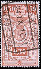 Belgium 1941 Railway Stamps (Numeral in Rectangle IV) c.jpg