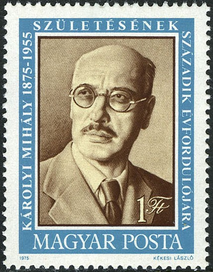 Hungary 1975 100th Anniversary of the Birth of Mihaly Karolyi a.jpg