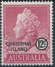 Christmas Island 1958 Queen Elizabeth II g.jpg