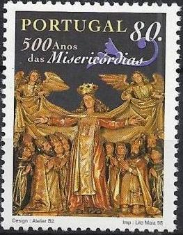 Portugal 1998 500th Anniversary of Misericórdias