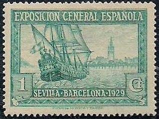 Spain 1929 Seville-Barcelona Exposition