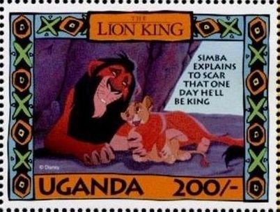 Uganda 1994 The Lion King o.jpg