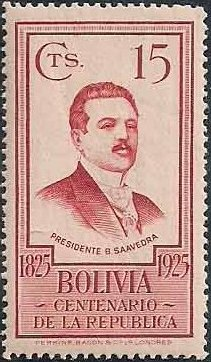 Bolivia 1925 Centenary of the Republic e.jpg