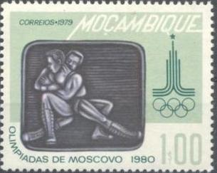 Mozambique 1979 Olympic Games - Moscow 1980
