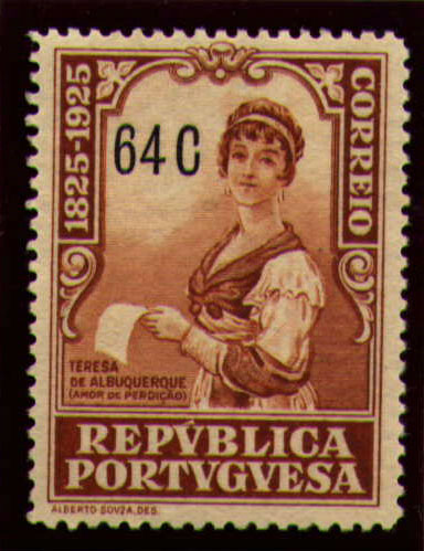 Portugal 1925 Birth Centenary of Camilo Castelo Branco q.jpg