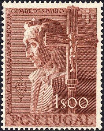 Portugal 1954 400th Anniversary of Founding of Sao Paulo, Brazil