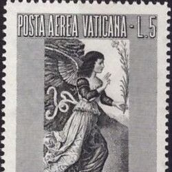 Vatican City 1956 Archangel Gabriel