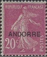 "Andorra-French 1931 Type ""Semeuse"" of France Overprinted ""ANDORRE"" b.jpg"