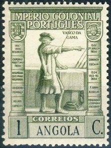 Angola 1938 Portuguese Colonial Empire