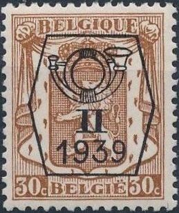 Belgium 1939 Coat of Arms - Precancel (2nd Group) d.jpg