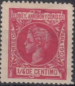 Elobey, Annobon and Corisco 1903 King Alfonso XIII