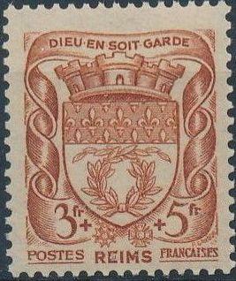 France 1941 Coat of Arms (Semi-Postal Stamps) j.jpg
