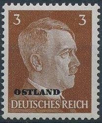 German Occupation-Russia Ostland 1941 Stamps of German Reich Overprinted in Black b.jpg
