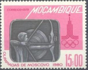 Mozambique 1979 Olympic Games - Moscow 1980 f.jpg