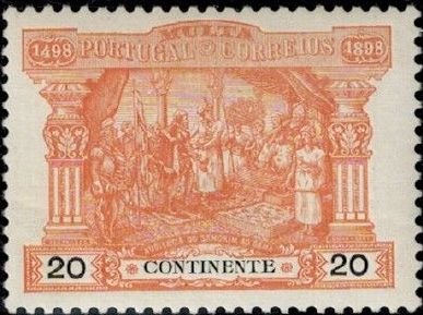 Portugal 1898 400th Anniversary of Discovering the Seaway to India (Postage Due Stamps) c.jpg