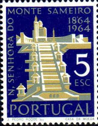 Portugal 1964 Centenary of the Shrine of Our Lady of Mt. Sameiro, Braga c.jpg