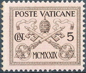 Vatican City 1929 Conciliation Issue
