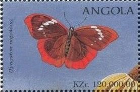 Angola 1998 Butterflies (3rd Group)