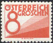 Austria 1925 Postage Due Stamps (Digit and Triangles) 1st Issue f.jpg