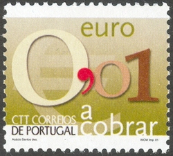 Portugal 2002 Euro Coins (Postage Due Stamps)