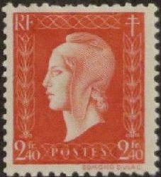 France 1945 Marianne de Dulac (2nd Issue) k.jpg