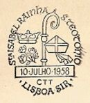 Portugal 1958 Queen Santa Isabelle and Saint Theotonius Festival PMa.jpg