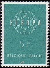 Belgium 1959 Europa b.jpg