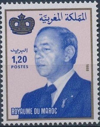 Morocco 1988 King Hassan II