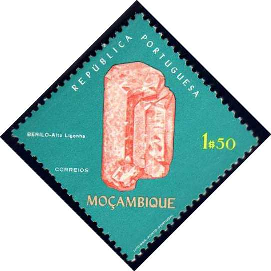 Mozambique 1971 Fossils and Minerals from Mozambique d.jpg