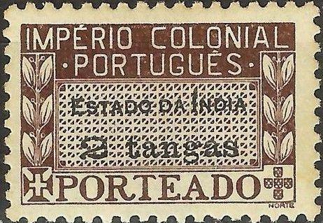 Portuguese India 1945 Portuguese Colonial Empire (Postage Due Stamps) f.jpg