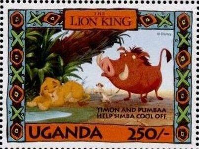Uganda 1994 The Lion King w.jpg