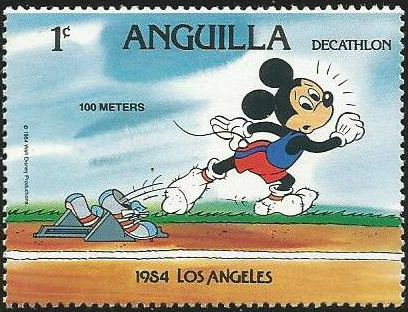 Anguilla 1984 Olympic Games Los Angeles