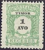 Timor 1904 Postage Due Stamps