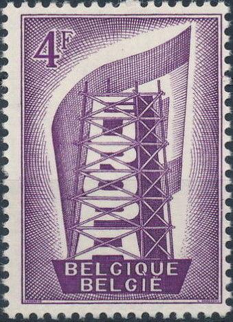 Belgium 1956 Europa b.jpg