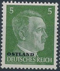 German Occupation-Russia Ostland 1941 Stamps of German Reich Overprinted in Black d.jpg